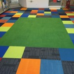 Orchard Grove Primary School Colourful Carpet