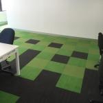 green pixel tiles