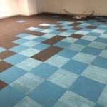 pixelated carpet tiles
